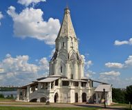 Church of the Ascension of the Lord in Kolomna Royalty Free Stock Photography