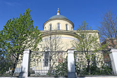 Church of the Ascension of the Lord in Storozh Stock Photo