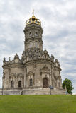 The Church of the ascension in manor dubrovitsy. Stock Photography