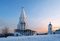 Church of the Ascension in Moscow Stock Photography