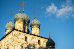 Church of the Ascension Moscow Royalty Free Stock Photo