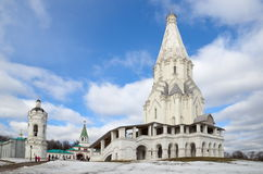 Church Of The Ascension, Moscow, Kolomenskoye, Russia Royalty Free Stock Photos