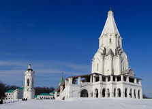 Church of the Ascension (Moscow) Stock Image