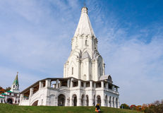 Church of the Ascension. Museum-Reserve Kolomenskoye. Moscow Royalty Free Stock Photography