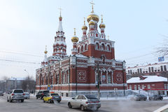 The Church of the Ascension , Perm, Russia Royalty Free Stock Image