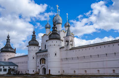 Church of the Ascension in the Rostov Kremlin Stock Images