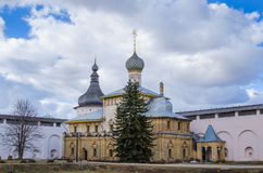 Church of the Ascension in the Rostov Kremlin Royalty Free Stock Image