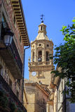 Church of the Ascension in San Asensio La Rioja Royalty Free Stock Images