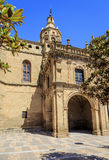 Church of the Ascension in San Asensio La Rioja Stock Photography