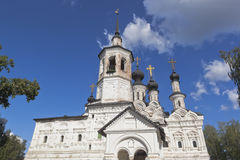 Church of the Ascension in Veliky Ustyug, Vologda region Royalty Free Stock Images