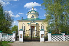 Church of the ascension in Yakhroma, Russia Stock Image
