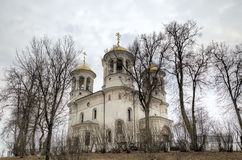 Church of the Ascension. Zvenigorod Royalty Free Stock Photography