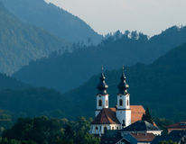 The church of Ashau near Chiemsee Royalty Free Stock Images