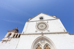 Church in Assisi in Italy Stock Photography