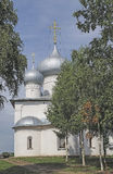 Church of the Assumption in Belozersk Royalty Free Stock Image