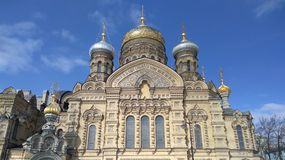 The church. Church Of The Assumption Of The Blessed Virgin Mary Royalty Free Stock Photo