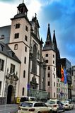 Church of the Assumption of the Blessed Virgin Mary in Cologne Stock Photos