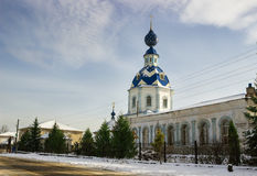 Church Assumption Blessed Virgin Mary. Ivanovo region. Russia Royalty Free Stock Photo