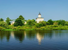Church of the Assumption of the Blessed Virgin Mary in Kolmovo Stock Image