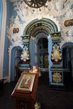 Church Of The Assumption Of The Blessed Virgin Mary in new Jerusalem monastery Istra, Moscow region. stock photos