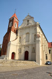 Church of the Assumption of the Blessed Virgin Mary and St Anthony in Gniezno Stock Photography