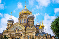 Church of the Assumption of the Blessed Virgin Mary, St Petersburg Russia Royalty Free Stock Photo