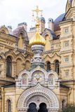 Church of the Assumption of the Blessed Virgin Mary, St Petersburg Russia Royalty Free Stock Photos