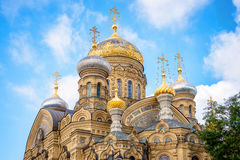 Church of the Assumption of the Blessed Virgin Mary, St Petersburg Russia Stock Photography