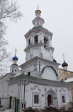 Church of the Assumption of the Blessed Virgin on Navolok in Vologda Stock Images
