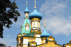 Church of the Assumption of the Blessed Virgin, Russia Royalty Free Stock Image