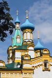 Church of the Assumption of the Blessed Virgin, Russia Stock Photo