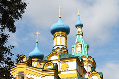 Church of the Assumption of the Blessed Virgin, Russia Stock Image