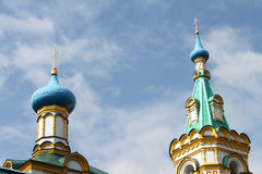 Church of the Assumption of the Blessed Virgin, Russia Stock Images