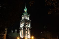Church of the Assumption in Lviv Royalty Free Stock Images