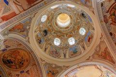 Church of Assumption Maria Kulm in the Czech Republic Royalty Free Stock Photo