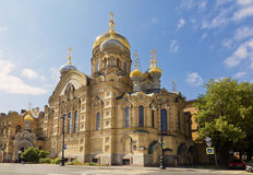 Church of the assumption metochion of the Kiev-Pechersk Lavra Royalty Free Stock Photography