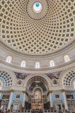 Church Rotunda of Mosta, Malta Royalty Free Stock Photo