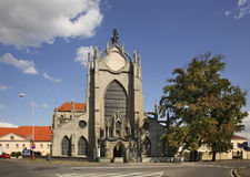 Church of the Assumption of Our Lady and Saint John the Baptist in Kutna Hora. Czech Republic Royalty Free Stock Photography