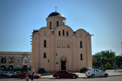 Church of the Assumption Pirogoscha, Kiev Stock Photography