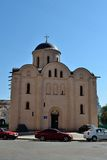 Church of the Assumption Pirogoscha, Kiev Royalty Free Stock Photo