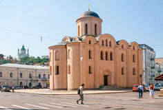 Church of the Assumption Pirogoscha, in Kiev Royalty Free Stock Image
