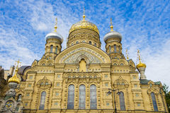 Church of the Assumption of St. Petersburg Stock Image