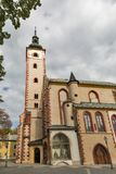 Church of Assumption of Virgin Mary in Banska Bystrica, Slovakia. Stock Image