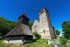The Church of the Assumption of the Virgin Mary, Vysker Royalty Free Stock Photos