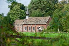 Free Church At The Mill Royalty Free Stock Photography - 127177377