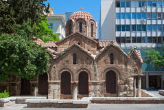 Church in Athens. Royalty Free Stock Photo
