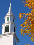 Church in Autumn Stock Photo