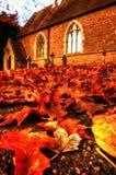 Church in Autumn B Royalty Free Stock Photo