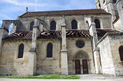 Church in Auvers Sur Oise, France Stock Photo