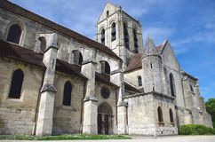 Church in Auvers Sur Oise, France Stock Image